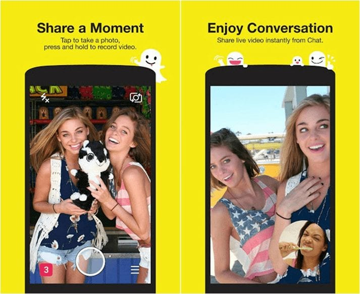 Free Download Snapchat Latest version APK