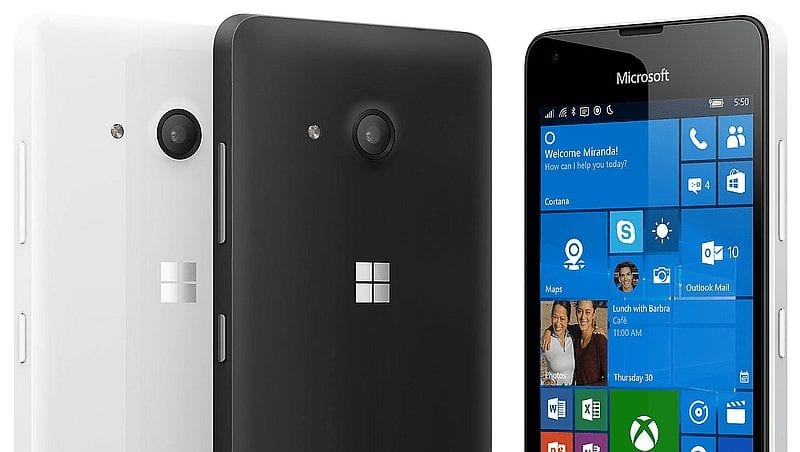 Lumia 550 - specs