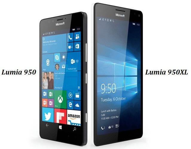 Lumia 950 and 950XL - Display