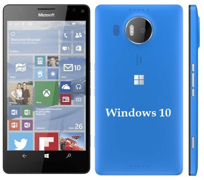 Lumia 950 and 950XL - Windows 10 OS
