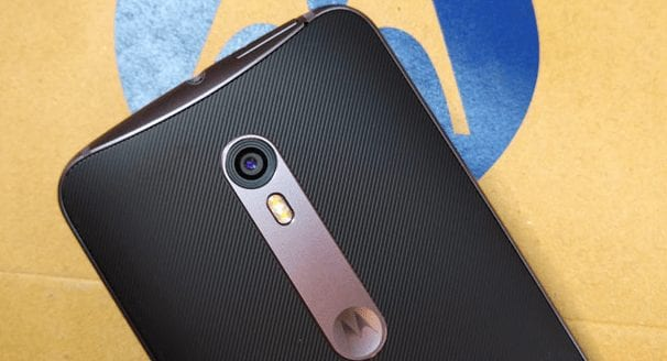 Moto X Style -camera