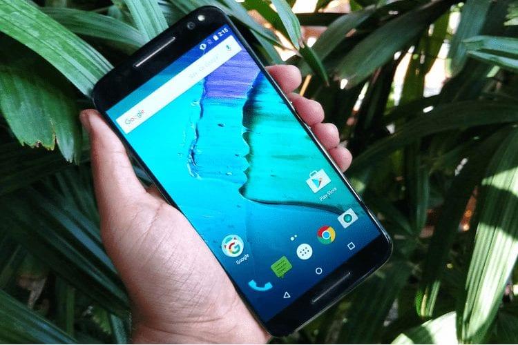 Motorola Moto X Style - Display