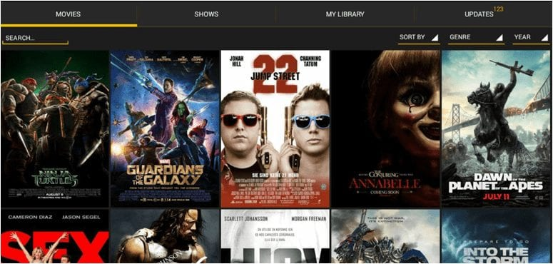 Showbox movie app for PC