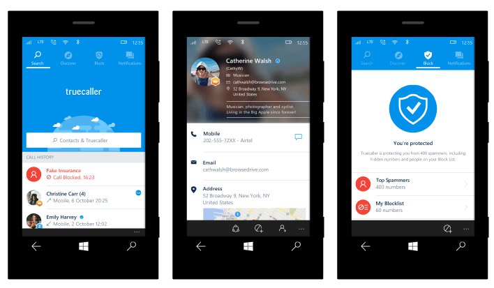 Truecaller - Improved Features