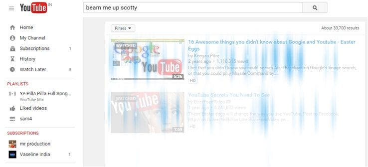 YouTube Secrets - Beam me up scotty