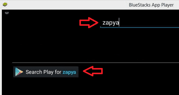 Zapya for PC using Bluestacks