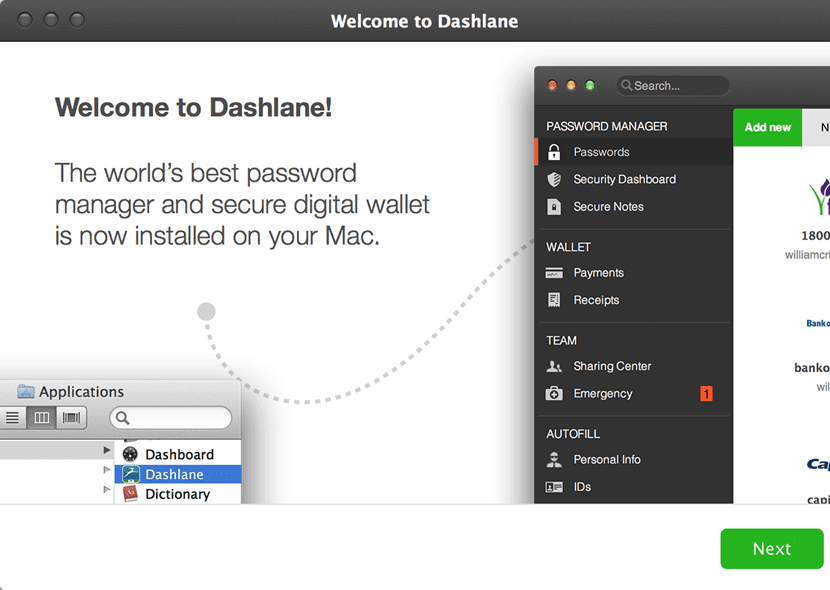 Best Password manager - Dashlane