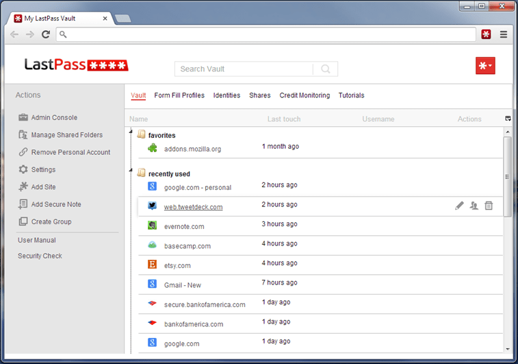Best Password manager - LastPass