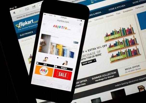 Flipkart and Myntra - app-only platform