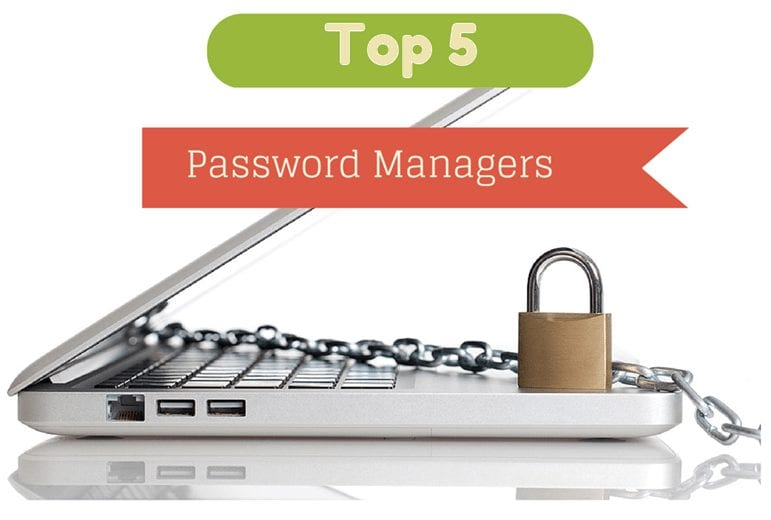 Top Five Password managers 2015