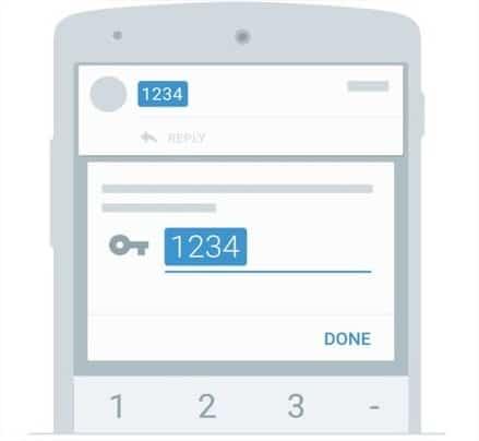 4-digit OTP code