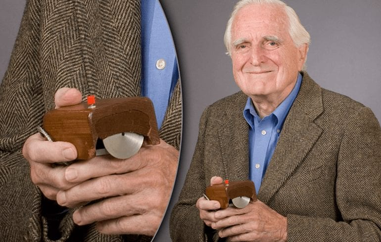 Douglas Engelbart - Inventor of First Computer Mouse