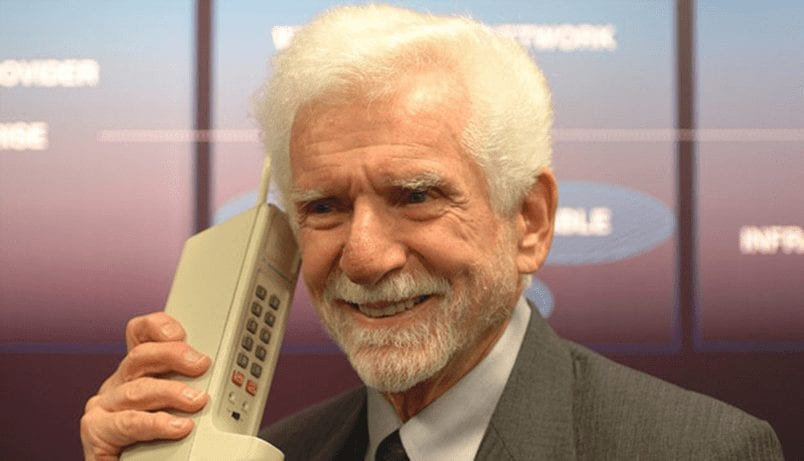 First Mobile Call Made by Martin Cooper