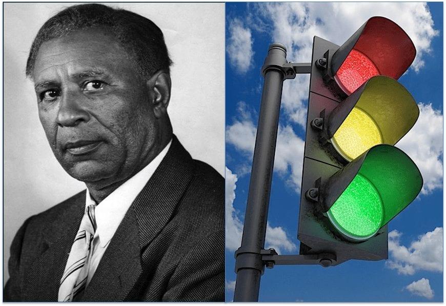 Garrett Morgan - First Street Traffic Light