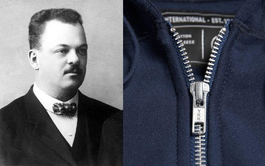 Gideon Sundback - inventor of Zipper