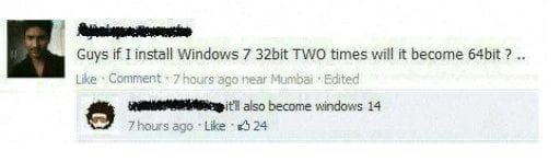 Hilarious Facebook Comments 1