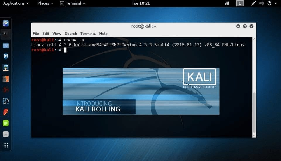 Kali Linux Rolling transition
