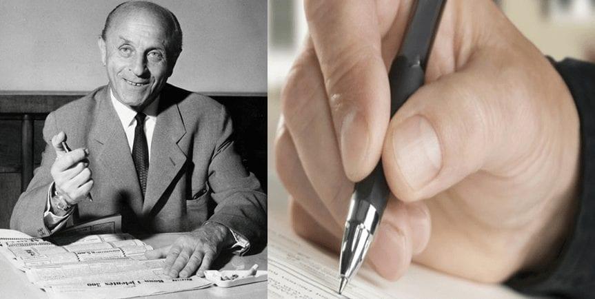 Lazlo Biro - First Ball point pen