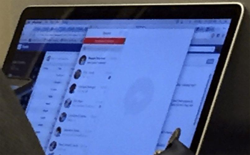 Leaked Images of Facebook Messenger App for MAC OS X