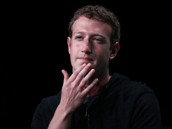 Mark Zuckerberg has Color-Blindness
