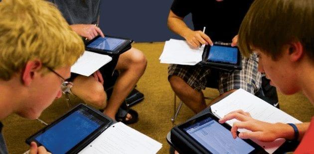 Modern Schools use iPads