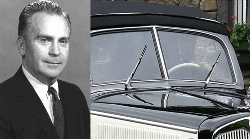 Robert William Kearns - Inventor of Wiper Systems on Automobiles