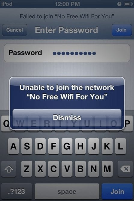 Unique Wi- Fi Names