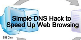 simple dns hack to speed up browing