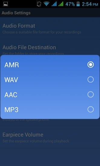 Audio Format