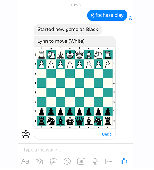 Facebook Chess - Hidden Game on Messenger