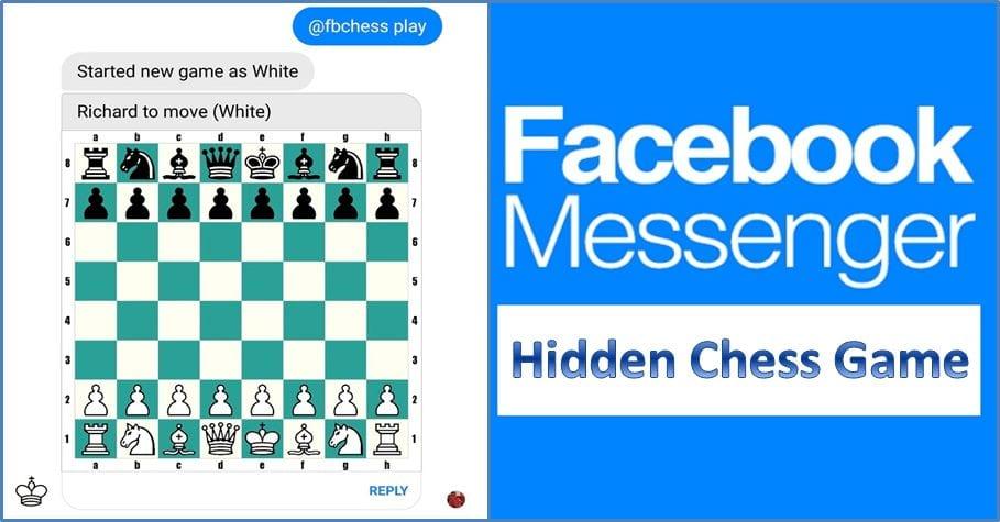 Facebook Messenger - Hidden Chess Game