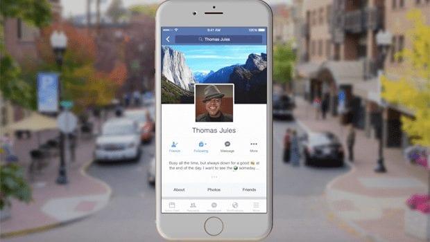 Facebook - Mobile -centric design