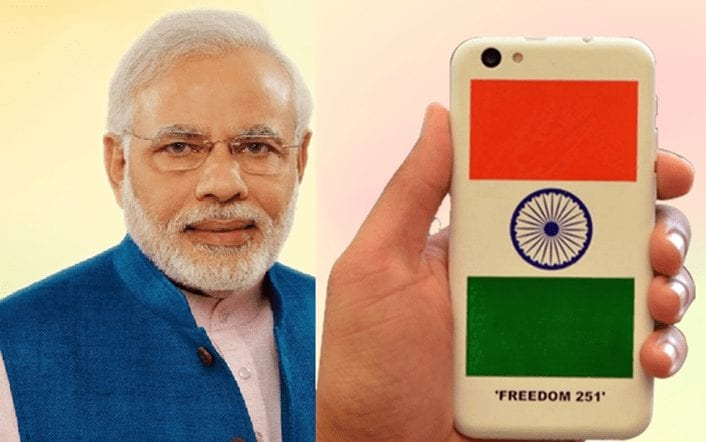 Freedom 251 - Make in India Campaign