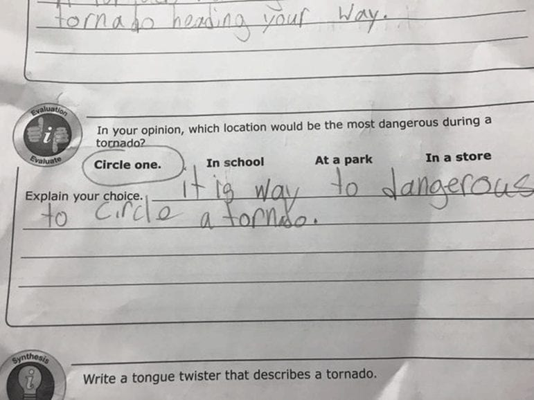 Hilarious Answers by kids