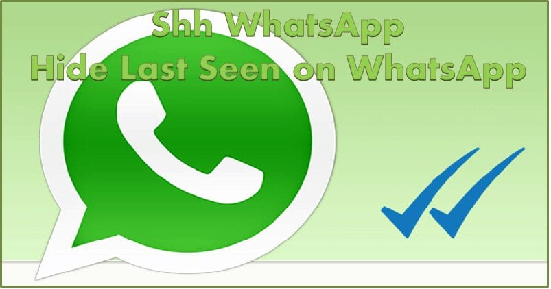 How to Hide Last Seen on WhatsApp app