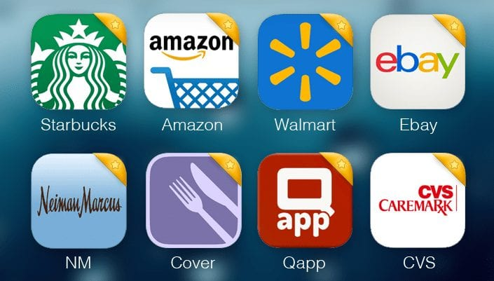 Mobile apps for Shopping