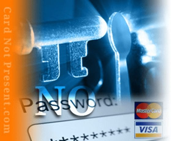 No password for Online payments via mastercard