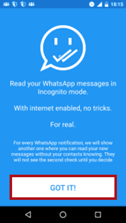 Shh WHatsApp - Download on your Android device
