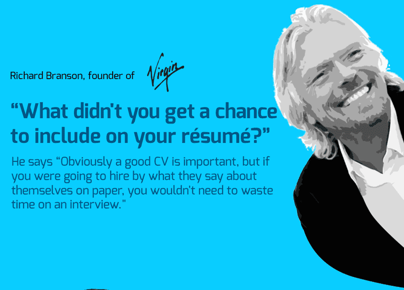 Strange Interview Questions by CEO of Virgin company