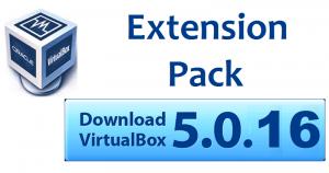 VirtualBox Extension Pack 5.0.16 – Enhance New Capabilities to VirtualBox