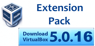 Download VirtualBox Extension Pack 5.0.16