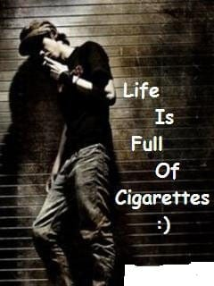 awesome-boys-whatsapp profile-pictures with cigarette
