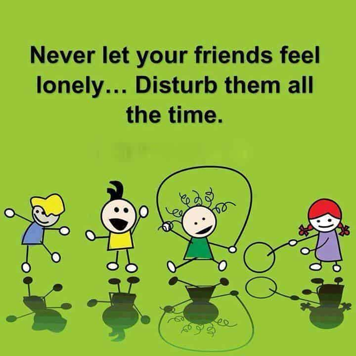 disturb your friends whatsapp dp