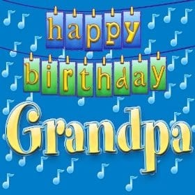 happy birthday whatsapp dp for grandpa