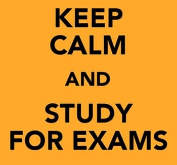 keep calm study for exam whatsapp dp