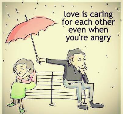 love is caring eachother whatsapp dp