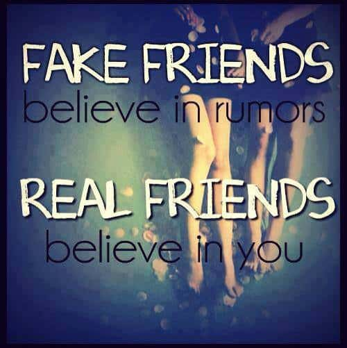 whatsapp dp for group about real & fake friends