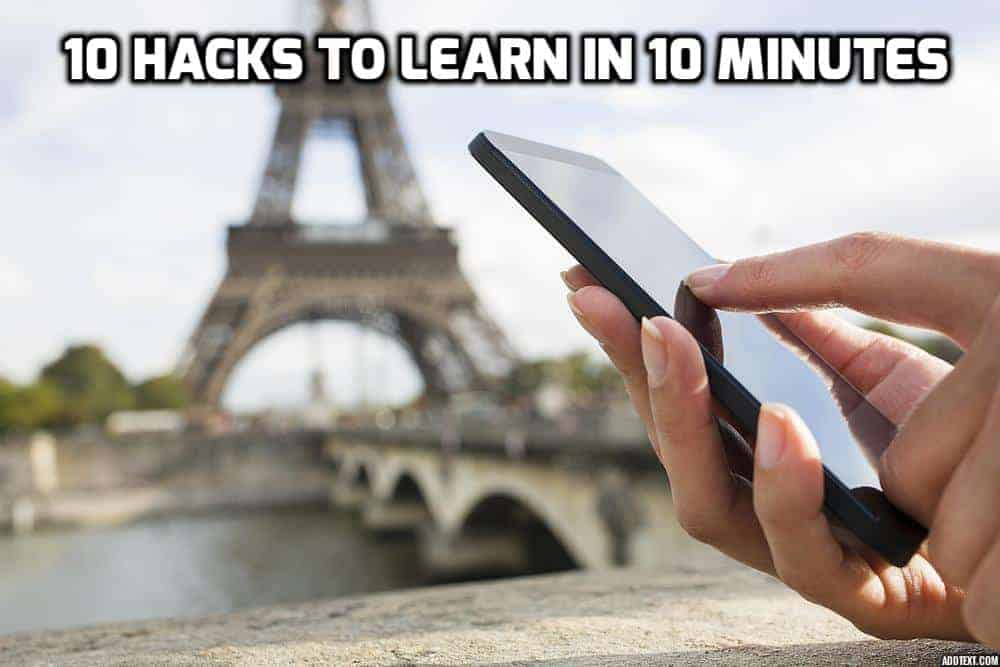 10 hacks to learn in 10 minutes