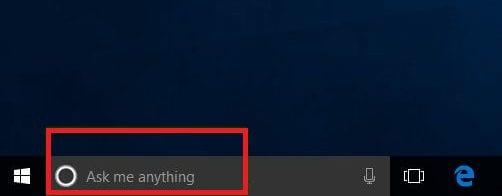 Disable Cortana & Web Results in Search Box Windows 10