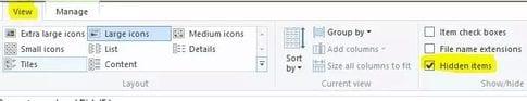 Hide Folders/Files Using Command
